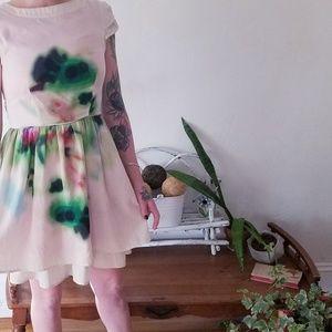 Ink blot jessica Simpson dress